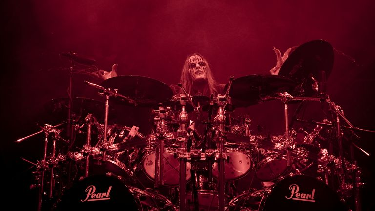 Joey Jordison's family said the he died peacefully in his sleep