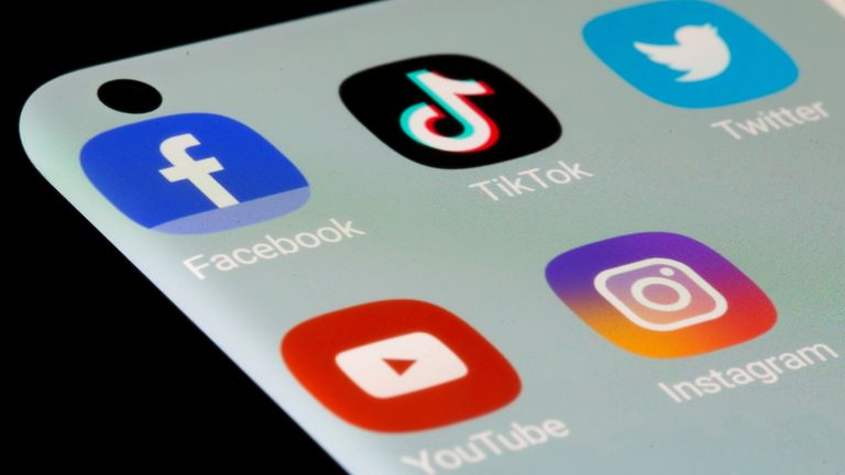 The Prime Minister met with social media companies last week to discuss online hate. Pic: Dado Ruvic/Reuters