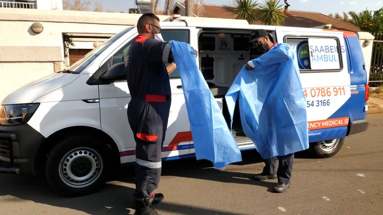 Community groups have been running ad-hoc clinics in South Africa during the pandemic