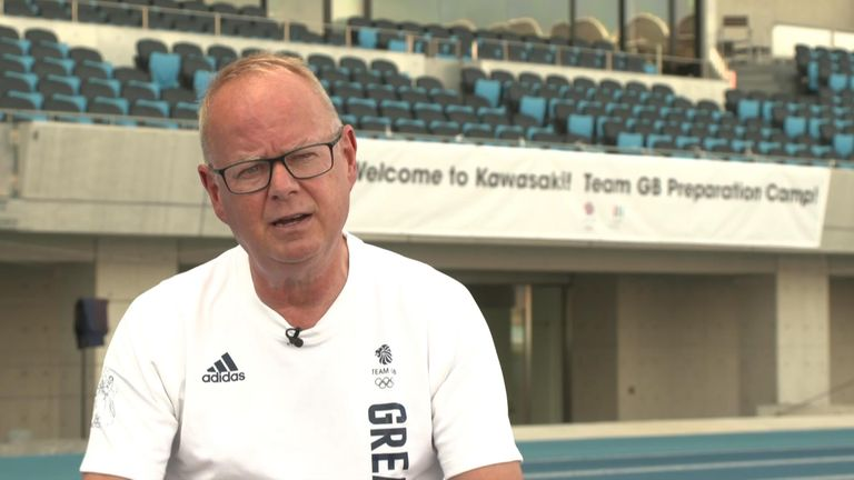 Team GB boss Mark England says athletes must take responsibility for themselves and the team