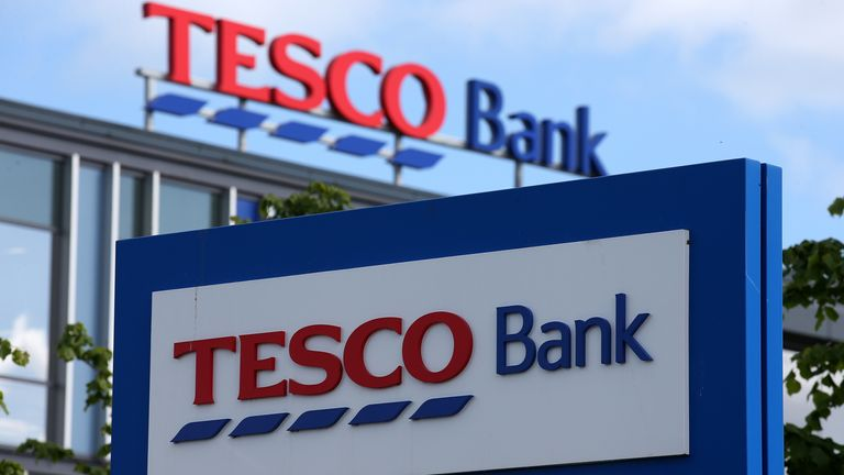 """General view of the Tesco Bank office in South Gyle, Edinburgh, as the supermarket giant took on the high street's banking giants when it launched its first current account with a swipe at the """"ridiculously poor value"""" offered by rivals 10/6/2014"""