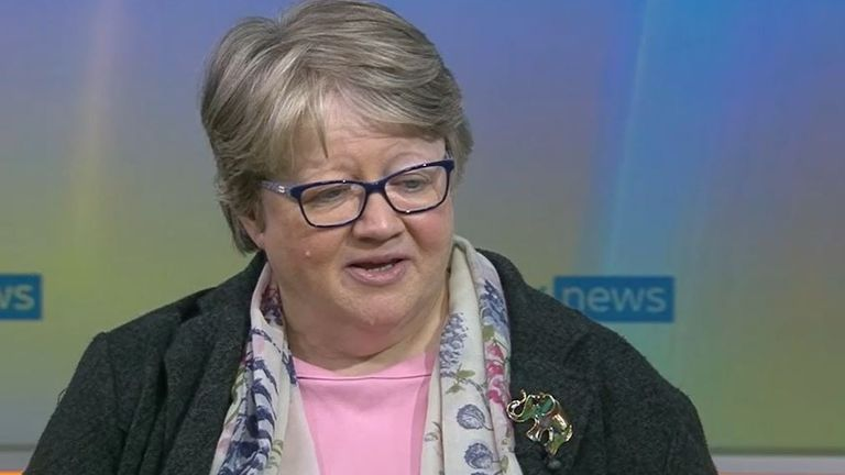 Therese Coffey will not comment on suggestion Boris Johnson tells lies