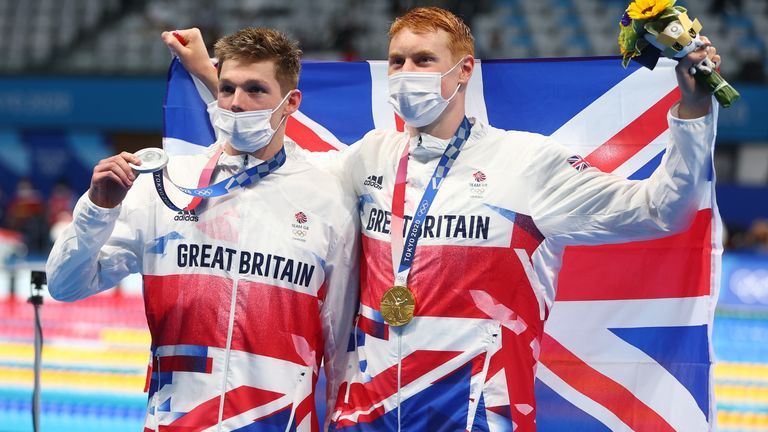 Team GB won 5 medals at today's games - one gold, two silver and three bronze.