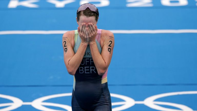 Flora Duffy won Bermuda's first-ever gold at the Olympics