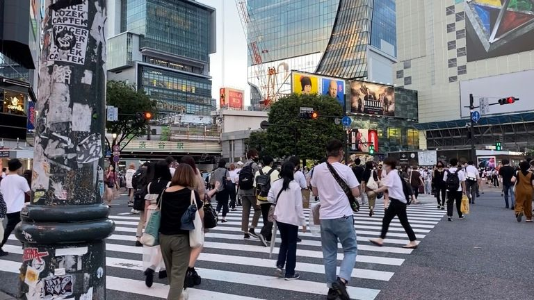 Tokyo is experiencing a surge in COVID-19 cases during the Olympic Games