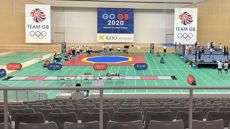Team GB's Tokyo training camp at Keio University