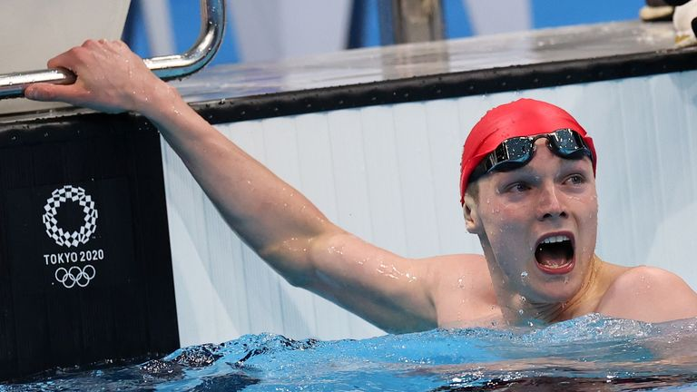 Scott Duncan finished as the fastest qualifier to reach the final of the 200m freestyle