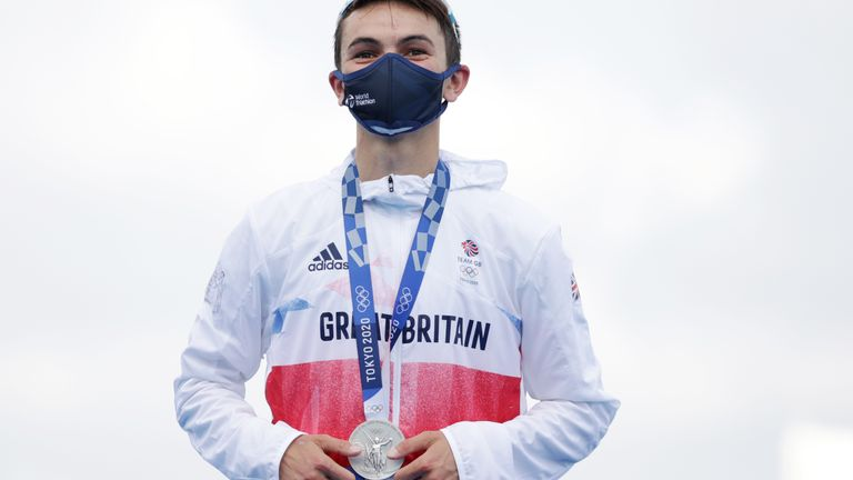 Yee won Team GB's third medal at this year's Olympic games