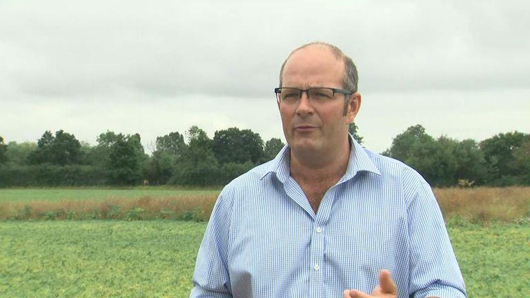 Tom Bradshaw of the National Farmers Union