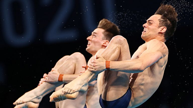 Tom Daley and Matty Lee on their way to Olympic gold