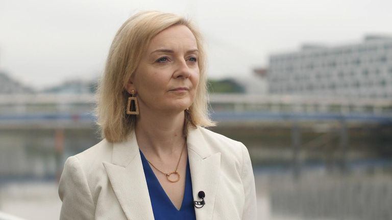 Liz Truss says trade needs a global approach to tackle climate change.