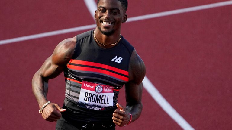 Usain Bolt has tipped Trayvon Bromell to win the 100m sprint. Pic: AP