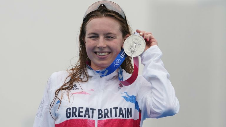 Georgia Taylor-Brown secured a silver medal in  Tokyo