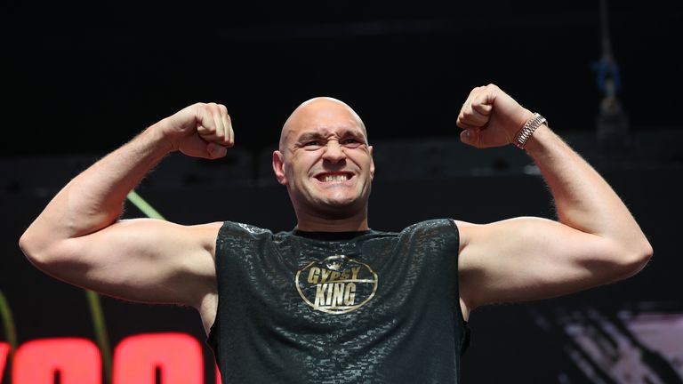File photo dated 21-02-2020 of Tyson Fury. Issue date: Thursday April 29, 2021.