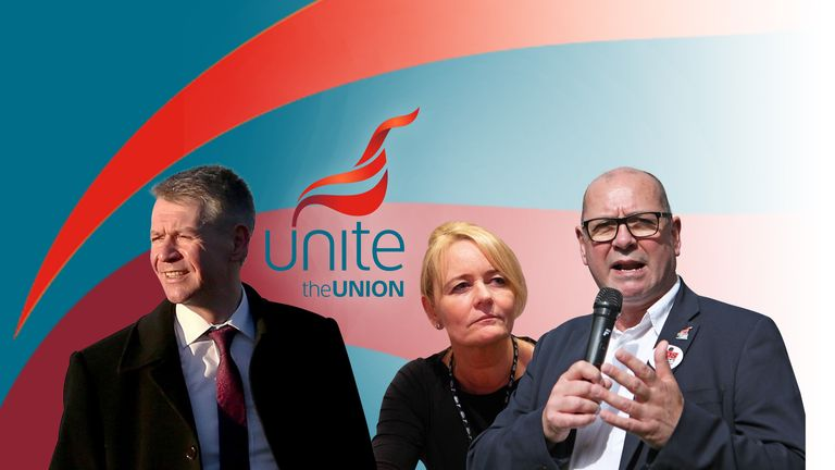 The Unite union is electing a new leader