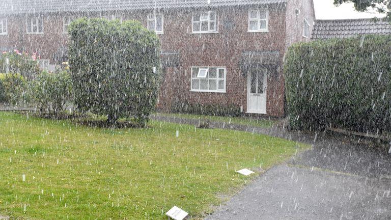 Rain in Essex