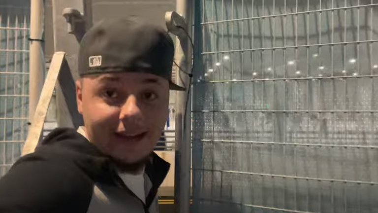 J2hundred filmed himself 'sneaking' into Wembley Stadium for the Euro 2020 final