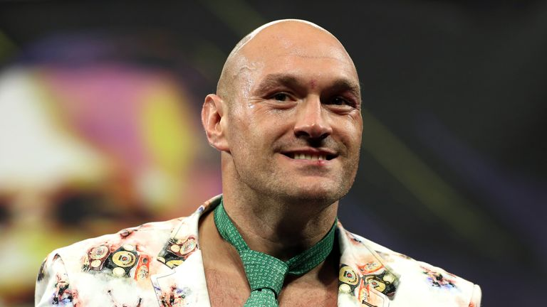 Tyson Fury because Deontay Wilder in 2019 and was set to defend his title this month