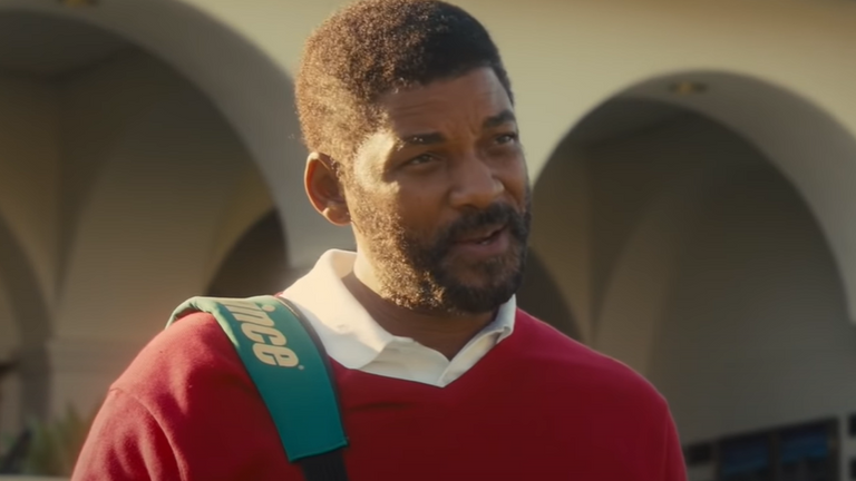 Will Smith plays Richard Williams in the new film. Pic: Warner Bros
