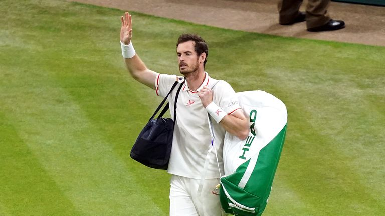 Murray came through two tough ties earlier in the draw and this match was a step too far for him, on his return to singles tennis