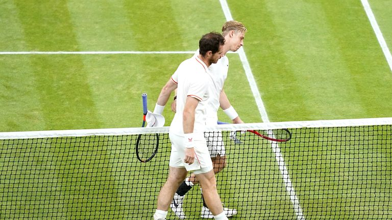 Sir Andy Murray, 34, was knocked out in straight sets by 22-year-old Denis Shapovalov on Friday