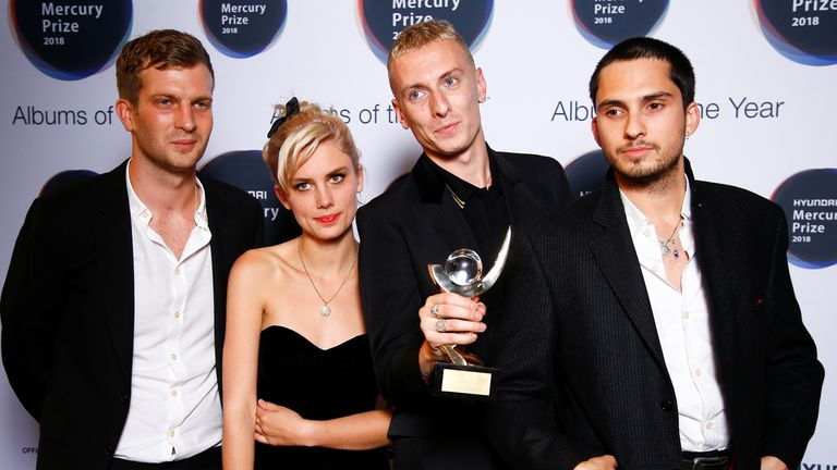Wolf Alice won the Mercury Prize in 2018. Pic: Reuters