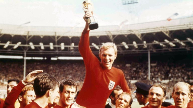 1966 World cup final. Pic: AP