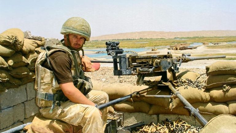 Corporal Mark Wright died after a dozen soldiers became stranded in a minefield near Kajaki Dam in Afghanistan in 2006