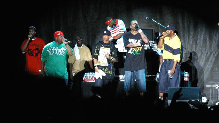 Rolling Stone called Wu-Tang Clan 'the best rap group ever' Pic: Scott Weiner/MediaPunch /IPX
