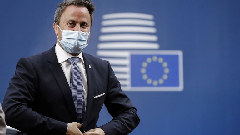 Xavier Bettel tested positive a few days after a meeting with other EU leaders