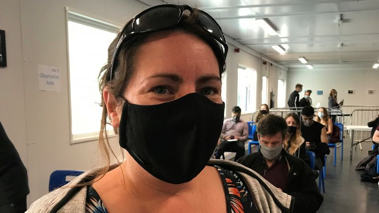 Janine Power says find ditching masks 'worrying'