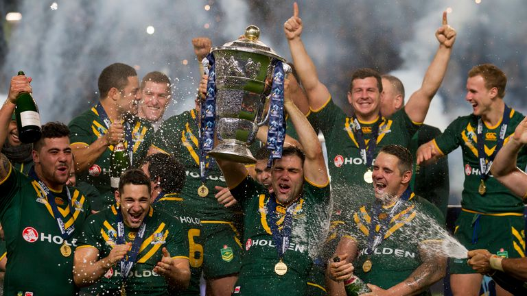 Australia won the 2017 Rugby League World Cup, beating England 6-0 in Brisbane