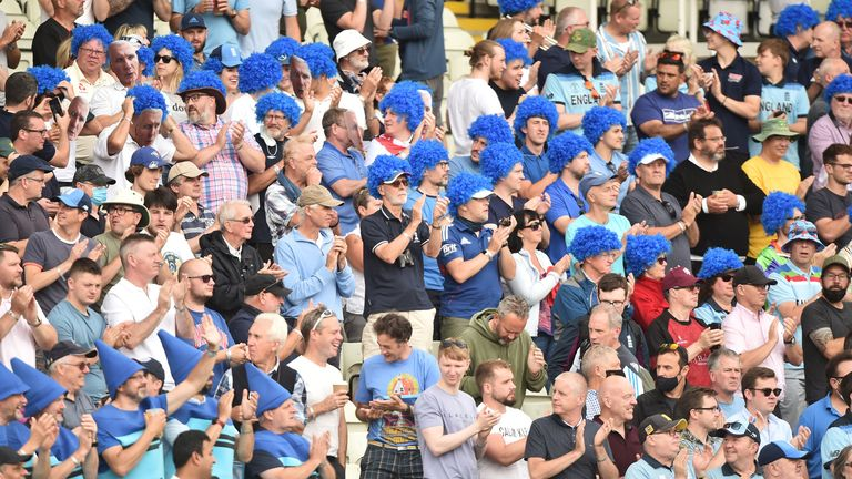 Edgbaston remembered the great Bob Willis and turned #BlueForBob to fight prostate cancer as England clinched a 3-0 ODI series sweep over Pakistan