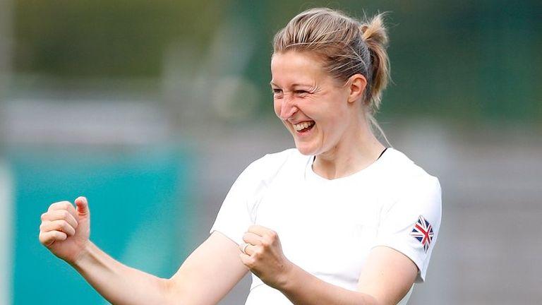 Ellen White scored twice as Team GB beat New Zealand
