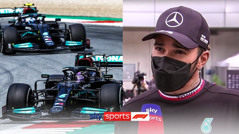 Lewis Hamilton admits his Mercedes team have a lot of work to do to narrow the gap between themselves and the Red Bulls