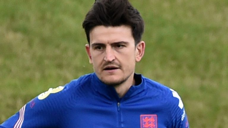 Harry Maguire missed the first two games of Euro 2020 through injury