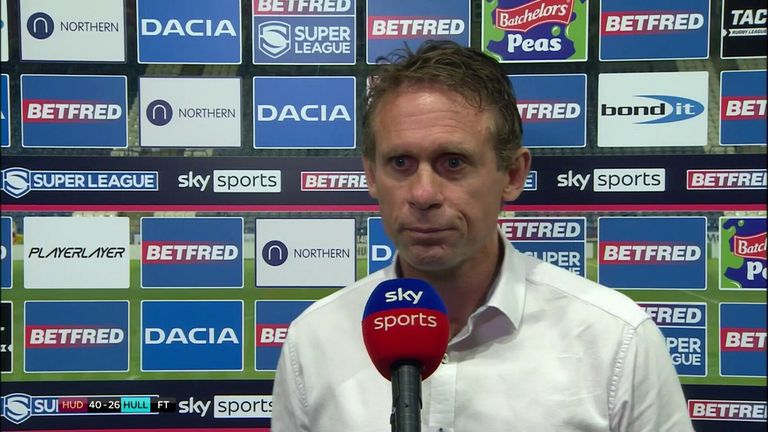 Brett Hodgson felt it was a 'tough lesson to learn tonight' after Hull FC lost 40-26 to the Huddersfield Giants