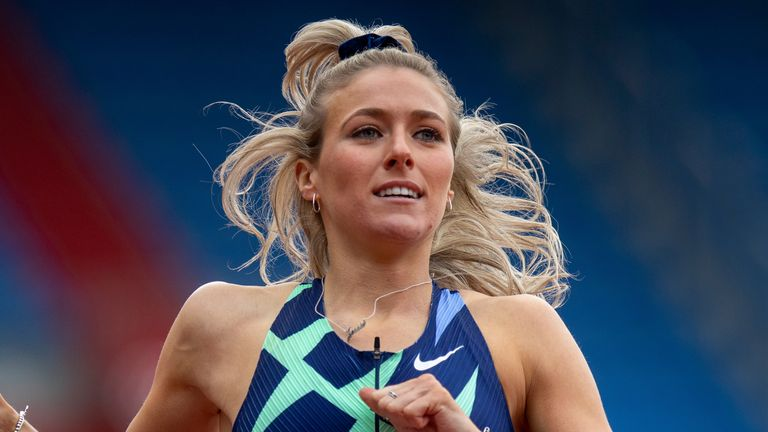 Team GB 400m hurdler Jessie Knight says she is 'in a really good place' despite having to self-isolate at the Olympic Games after she was deemed a close contact with someone who tested positive for coronavirus while travelling to Tokyo.