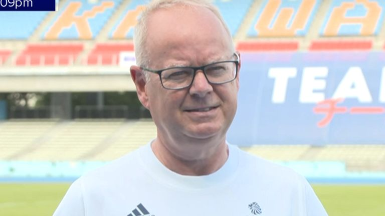 Mark England, Team GB Chef de Mission for Tokyo 2020, says he supports the women's football team taking the knee at this summer's Olympic Games.
