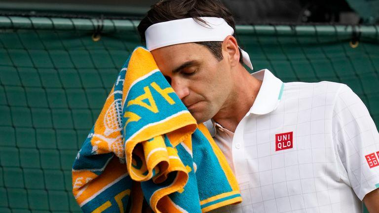 Roger Federer, Wimbledon (AP)