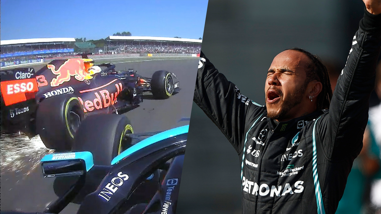 Sky F1's Martin Brundle gives his final verdict on the collision between Max Verstappen and Lewis Hamilton at the British Grand Prix.