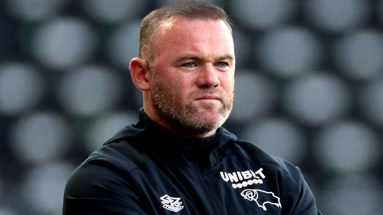 Derby County boss Wayne Rooney (PA)