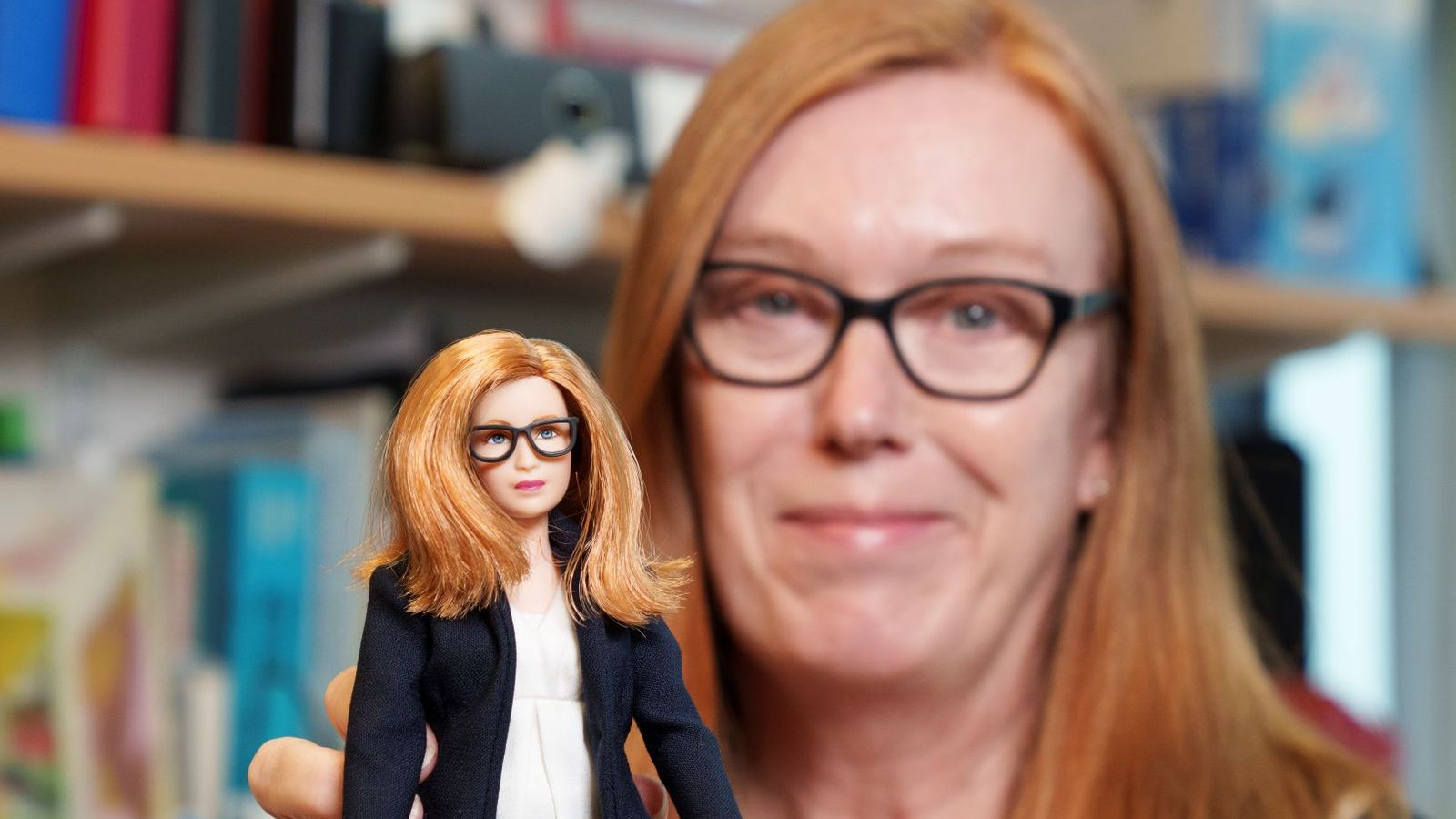 Barbie creates doll of vaccine scientist Professor Sarah Gilbert in hope of inspiring girls to get into STEM careers