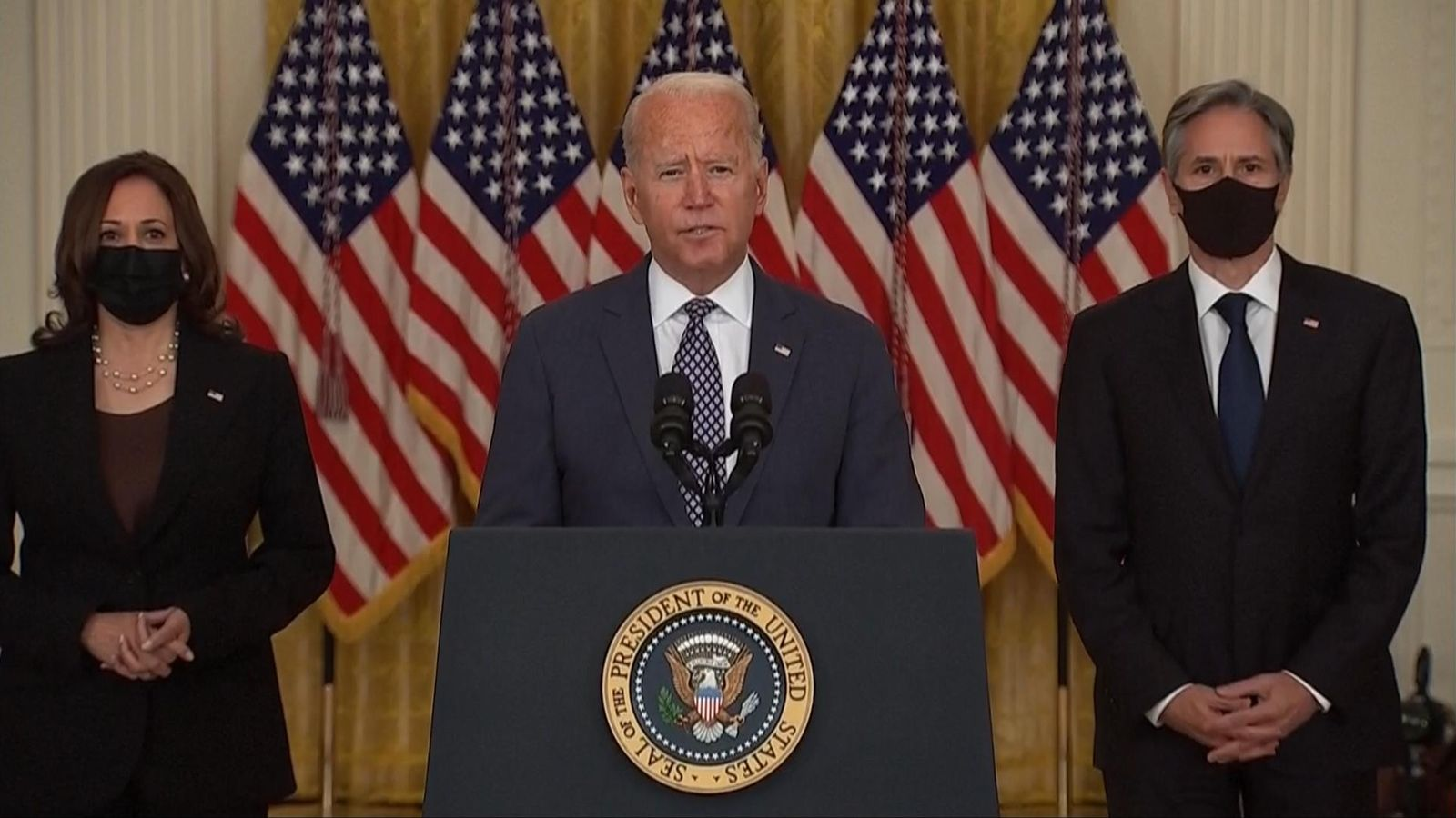 Afghanistan: Biden maintains he's done what's best for America – yet he's led his allies into a crisis for them all