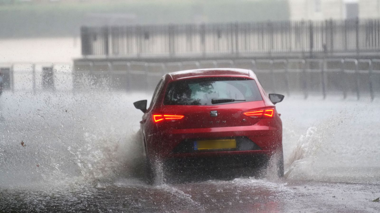 UK weather: Met Office warns of life-threatening floods as month's worth of rain set to fall in 24 hours