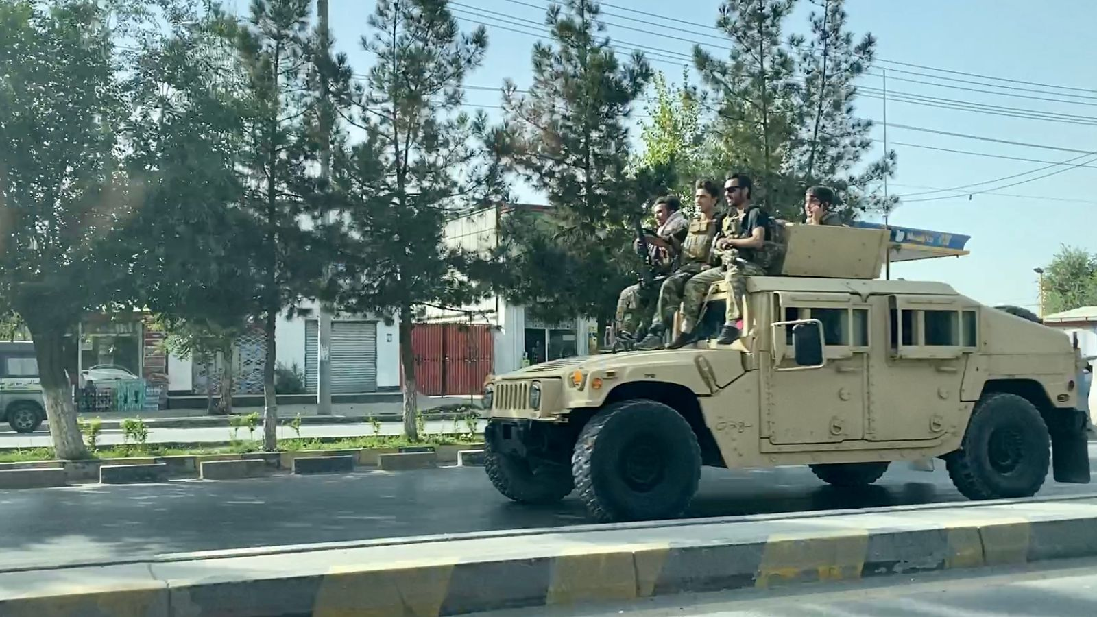 Afghanistan: Translators and security guards among thousands struggling to flee as Taliban advance