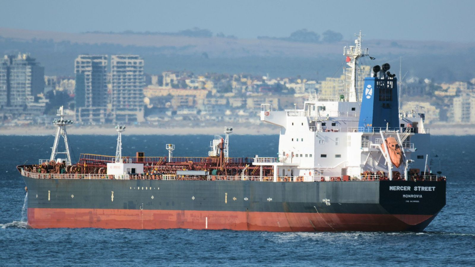 Oil tanker attack: British special forces investigating suspected Iranian attack on MV Mercer Street