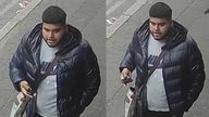 Police are searching for this man in connection with the hit-and-run in Birmingham