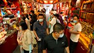 All of Wuhan's 12 million residents will be tested for coronavirus. Pic: AP