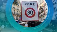 Paris has followed the likes of London, Berlin and Madrid in introducing lower speeds on city roads